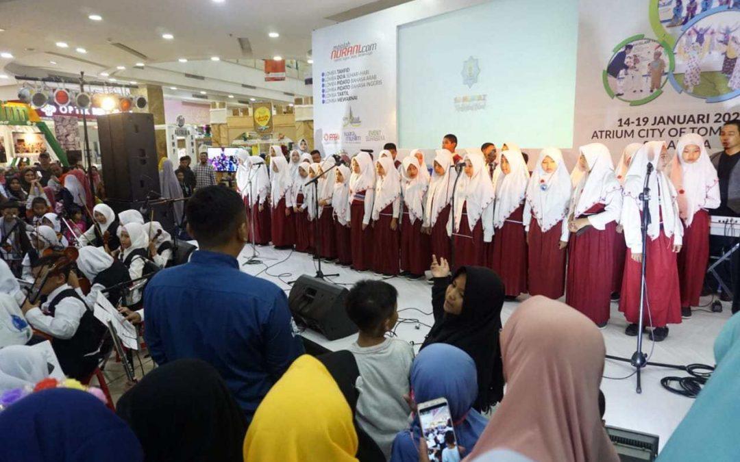 Orkestra SD Mumtaz Gemparkan Panggung IEF 2020