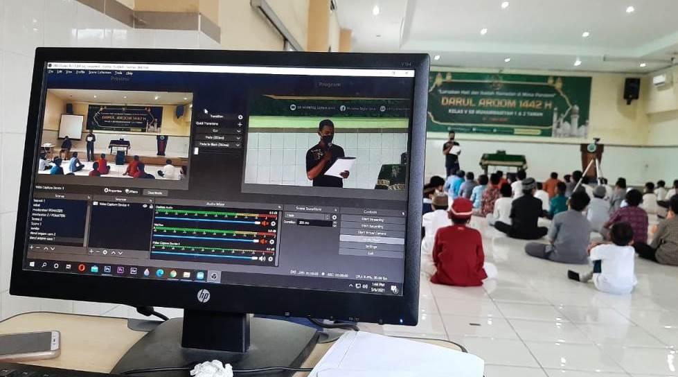 Darul Arqam Kelas V SD Muhammadiyah 1 & 2 Taman Sidoarjo dilaksanakan secara Tatap Muka dan Daring (Heni Dwi Utami/PWMU.CO)