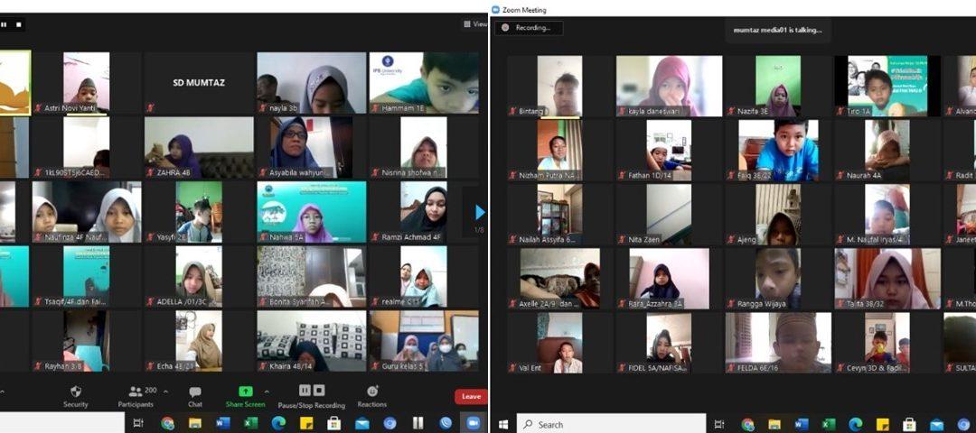 Halal bi Halal Virtual Keluarga Besar SD MUMTAZ 1442H